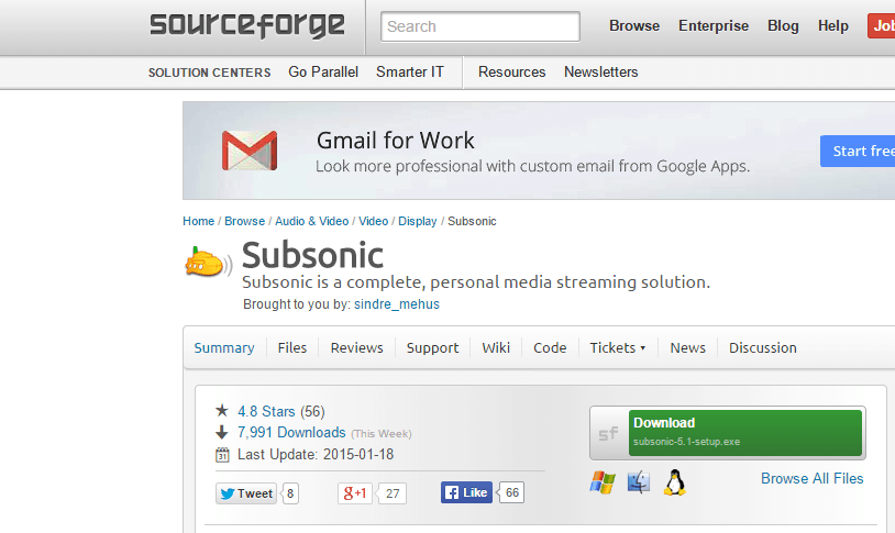 Subsonic full access without donation