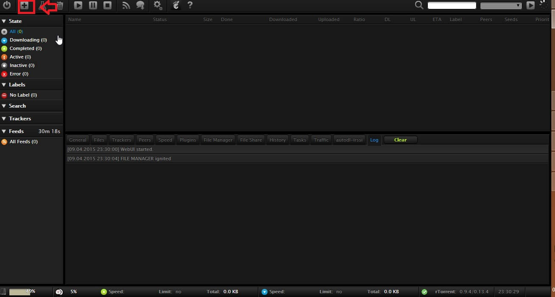 how to add url in utorrent