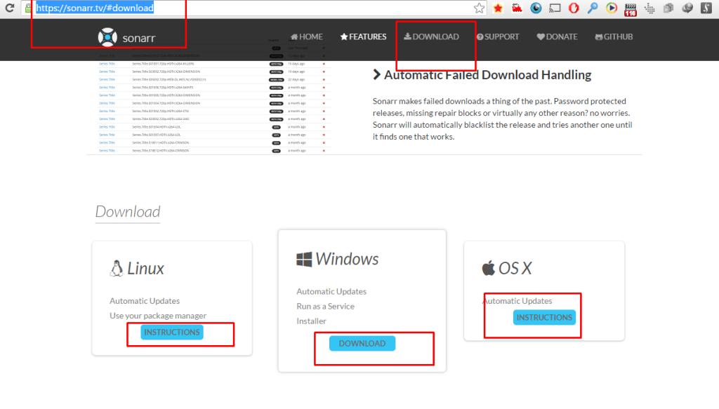 Sonarr With Seedbox rutorrent - Step 1 Downloading Sonarr