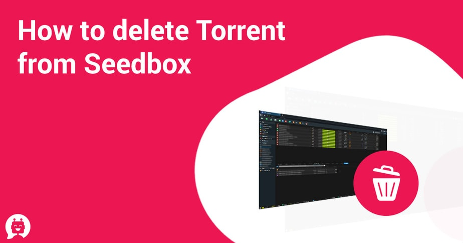 How to delete Torrent from Seedox. Advanced tutorial
